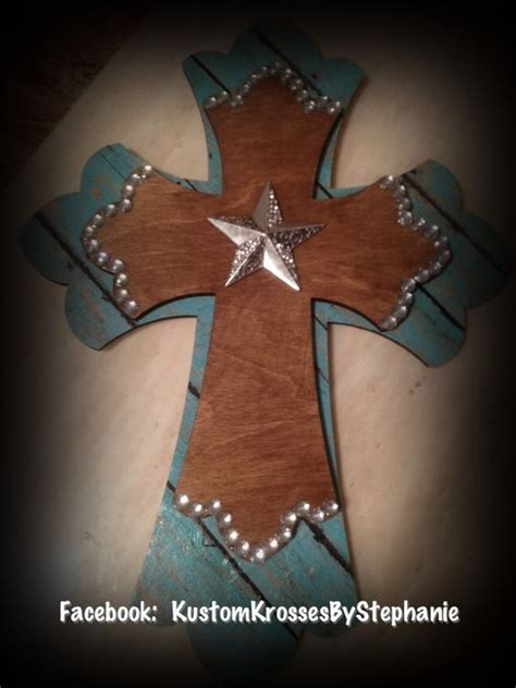 western craft projects western handmade cross craft ideas things to make for