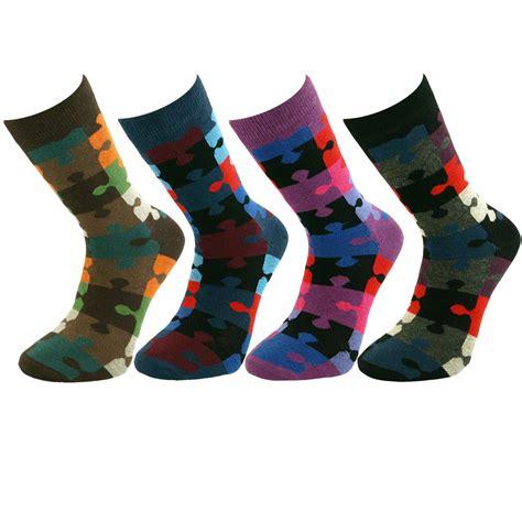 socks pattern crossword mens jigsaw puzzle patterned ankle socks au ebay