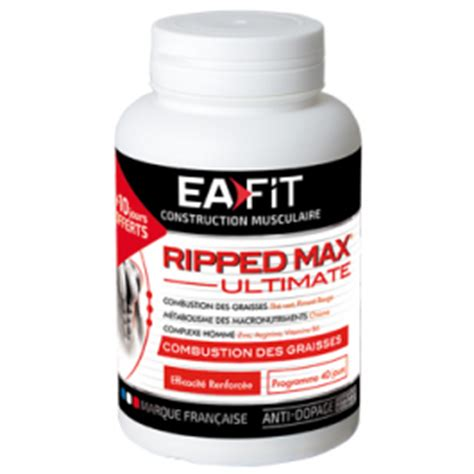 Ea Fitness - ea fit ripped max ultimate burner musculation fr