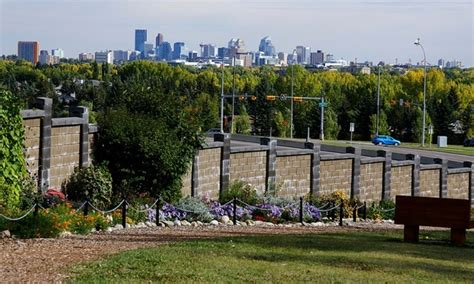 Calgary A B Botanical Garden Scene Rvwest Botanical Gardens Calgary