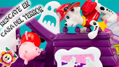 Bmb10124 J2 Peppa Pig peppa pig rescatada por la patrulla canina en la casa terror parque de atracciones