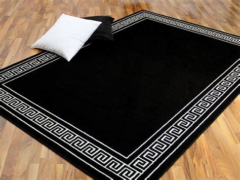 teppiche schwarz teppich trendline schwarz wei 223 r 246 mische bord 252 re 4 gr 246 223 en