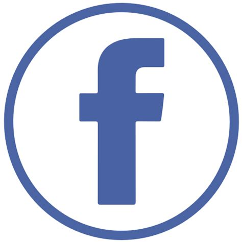 fb icon vector fb icon free of social icons circular color