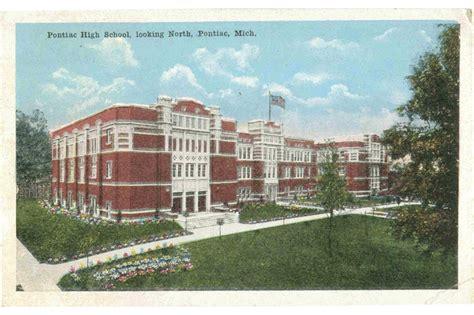Pontiac School by Detroiturbex Pontiac Central High School