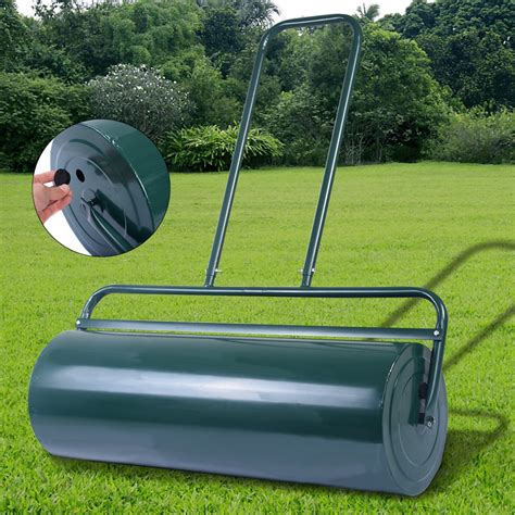 Garden Roller by 63l Fds Heavy Duty Steel Metal Water Sand Filled Garden