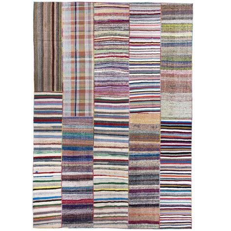 colorful rugs for sale oversize colorful cotton rag rug for sale at 1stdibs