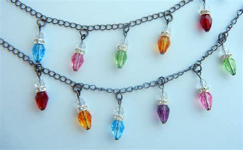 lighted christmas bulb necklace twelve days of christmas jewelry designs 5 swarovski