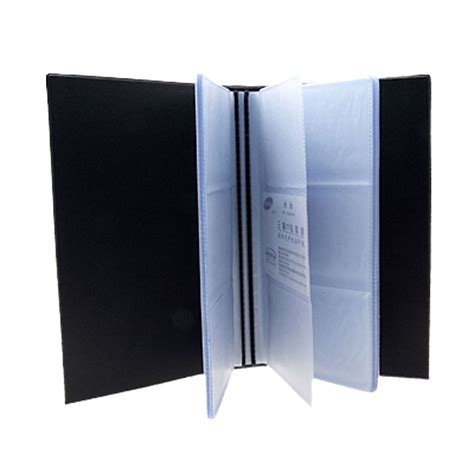 Name Card Holder 1 amico business name card credit card holder book for 240 card s ebay