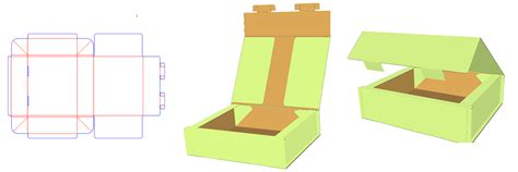 3d packaging templates packmage corrugated and folding box packaging