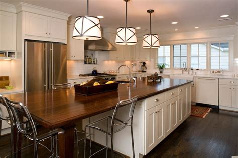 long kitchen island transitional kitchen twin companies