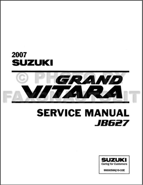 free online auto service manuals 2012 suzuki grand vitara electronic valve timing 2007 suzuki grand vitara repair shop manual original