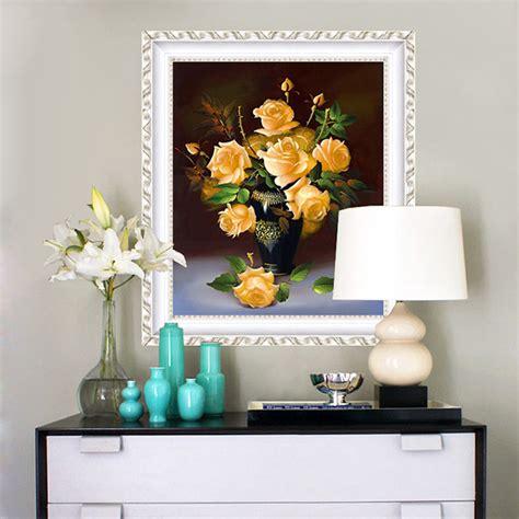 diamond home decor 5d diamond embroidery painting diy home decor craft flower