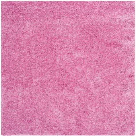 rugs california safavieh california shag pink 4 ft x 4 ft square area rug sg151 3232 4sq the home depot