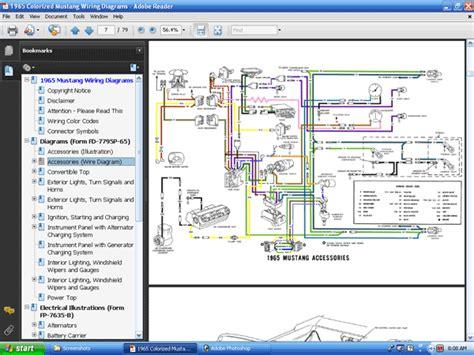 1965 mustang wiring diagram free 1965 get free