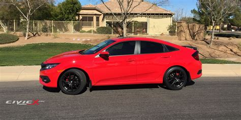 Modified Honda Civic 2015 by More Black Is Better Modified 2016 Civic In Rallye