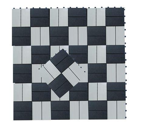 composite garden decking tile