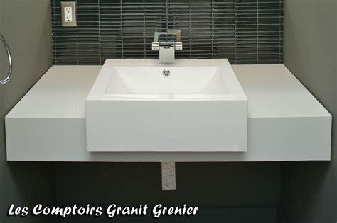 comptoir de granit et quartz comptoirs de salle de bain