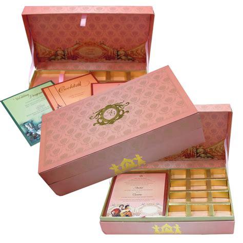 Indian Wedding Card With Sweet Box