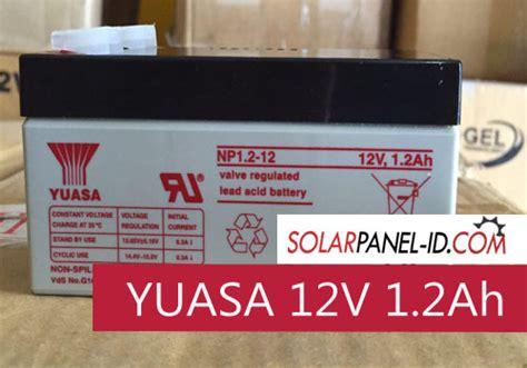 Aki Kering Yuasa Np65 12 Baterai Yuasa 12v 65ah Yuasa Vrla 12 V 65 Ah jual aki ups yuasa 12v1 2ah distributor panel surya