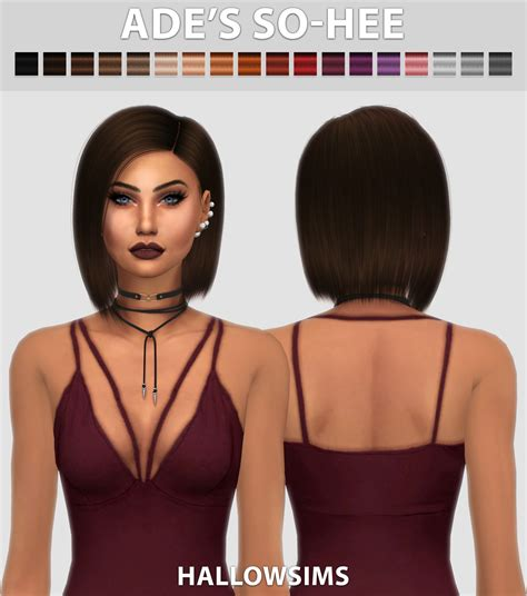 sims 4 short hair hallowsims sims 4 updates sims 4 finds sims 4 must
