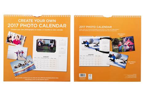 make your own calendar uk whsmith create your own photo square calendar 2017 month
