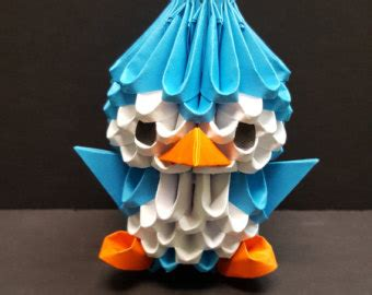 3d origami penguin tutorial youtube 3d origami my blog