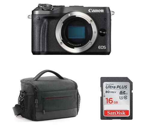 canon mirrorless dslr buy canon canon eos m6 mirrorless with