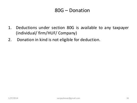 Deduction Section 16 Of Income Tax Act by Deductions From Gross Total Income Section 80c To 80 U Of Incom