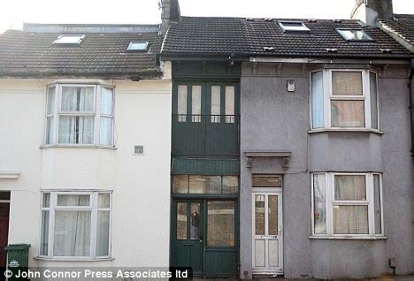 Britain S Narrowest House Sussex Home That Used To Be A