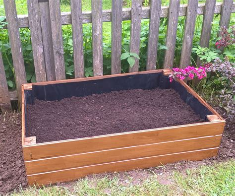 Wooden Raised Bed Garden Planter 4 Raised Bed Planter