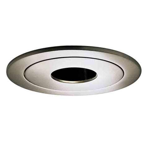 Halo Ceiling Lights Halo 990 Series 4 In Satin Nickel Recessed Ceiling Light Pinhole Trim 990sn The Home Depot