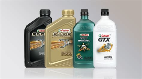 Car Types Of Fluid by Castrol Motor Engine Oils Synthetic