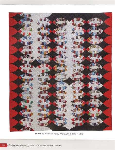double wedding ring quilts traditions made modern