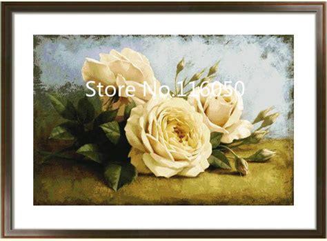 Lukisan Bordir get cheap terkenal naik lukisan aliexpress