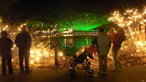 are there christmas lights at the cleveland zoo this year travel through time for lights cleveland
