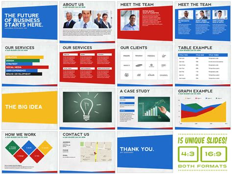 Universal Pitch Deck Ten Powerpoint Presentation Templates On Creative Market Powerpoint Pitch Deck Template