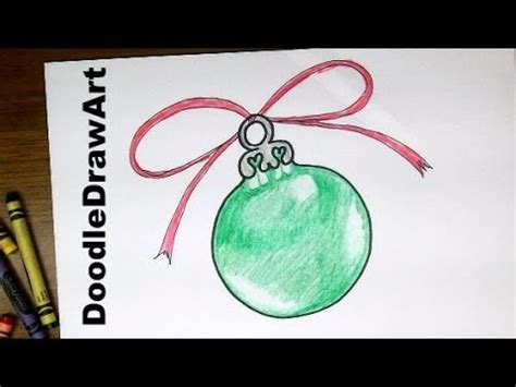 ornaments to draw drawing how to draw a tree ornament easy