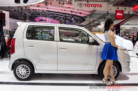 Suzuki Muffler Extention Wagon R by Suzuki Displayed Wagon R At Ongoing Indonesia Auto Show