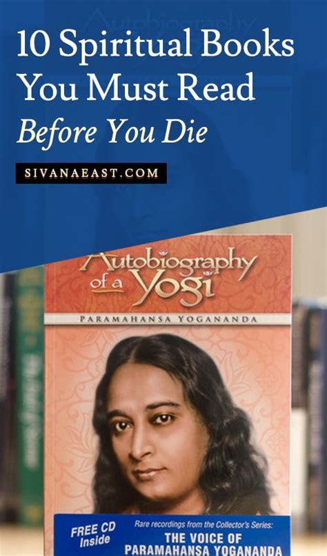 Biography You Must Read | 10 spiritual books you must read before you die the o