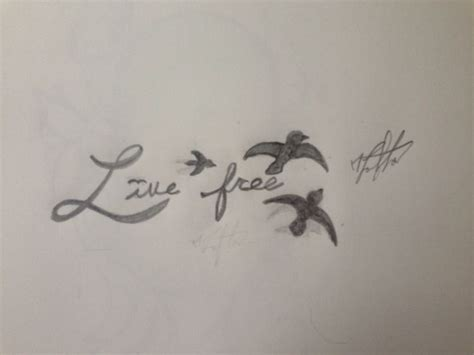 live free tattoo designs free custom designs butterfly flower
