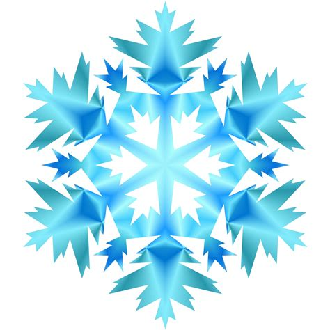blue snowflake 1 free stock photo public domain pictures