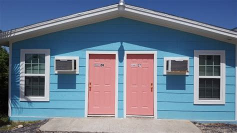 Rock Cottages Port Aransas Tx by Blue Palm Inn Port Aransas Tx Foto S Reviews En