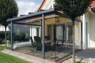 wintergarten glaselemente baie vitr 233 e pour la terrasse fermez la terrasse et ouvrez