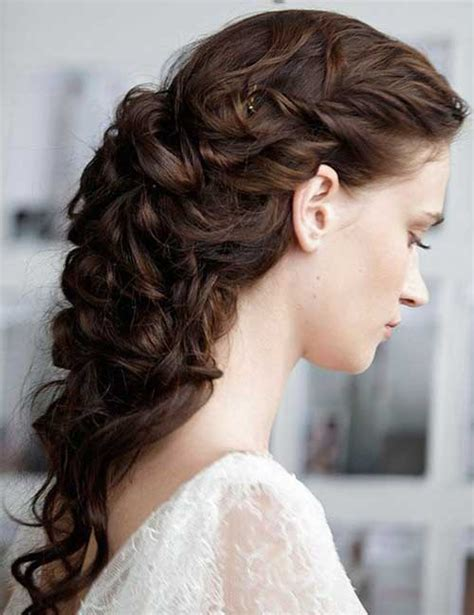 wedding hair curly 30 curly wedding hairstyles hairstyles 2016 2017