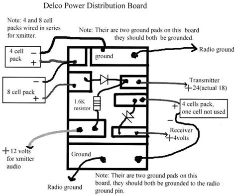 delco radio wiring diagram pin best free home design