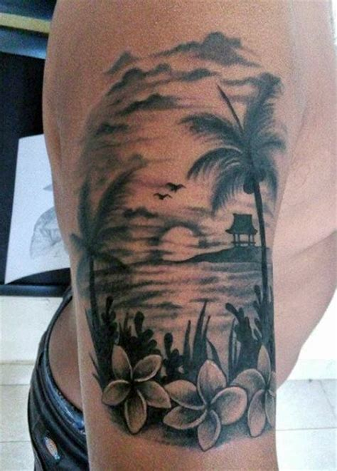tattoo beach designs 75 tattoos for serene shore designs