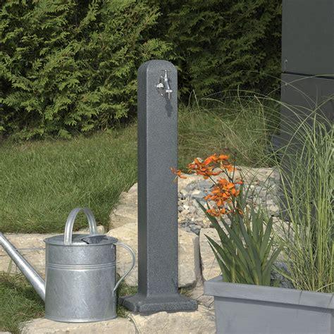 Zapfstelle Garten Selber Bauen by Wasserzapfstelle Poller Black Granit