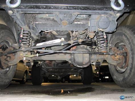 jeep track jeep track bar install
