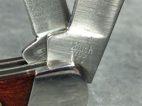 buck knife 703 buck 703 black wood stockman pocket knife current market