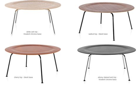 Eames Plywood Coffee Table Eames 174 Molded Plywood Coffee Table With Metal Base Hivemodern